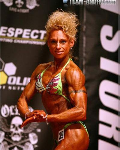 Dunja Müller trainiert im Fitness On Top in Bamberg