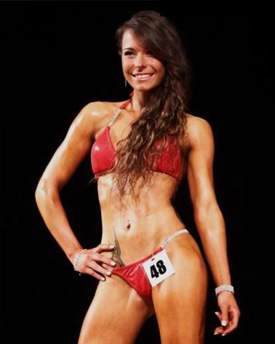 Sarah Knoblach trainiert im Fitness on Top Bamberg