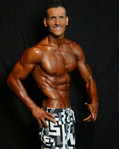 Moritz Fleischmann trainiert im Fitness On Top in Bamberg